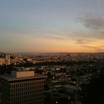 Watching the sunrise from UCSF