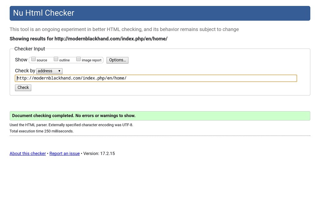 wordpress seo: html checker