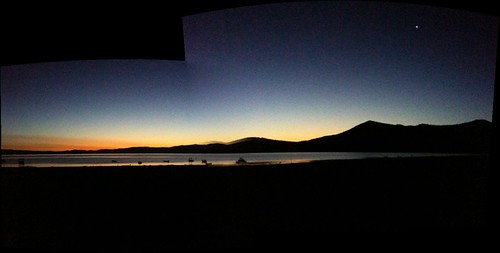 autostitch lake sunrise eagle eyefi