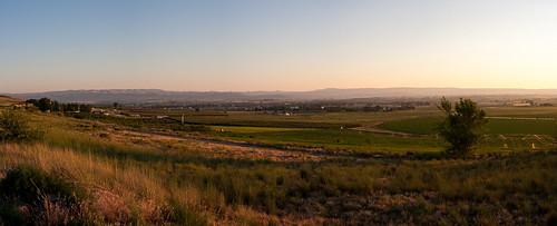 sunset panorama usa festival landscape us unitedstatesofamerica idaho wilder theditch canyoncounty waterintheditch
