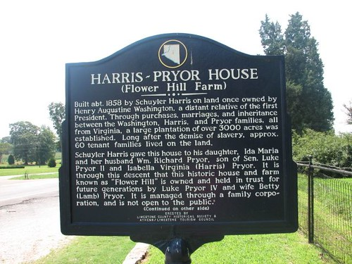 Harris ~Pryor House (Flower Hill Farm)