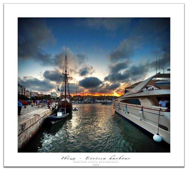 Ibiza - Eivissa harbour