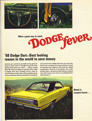 1968 Dodge Dart GT by coconv
