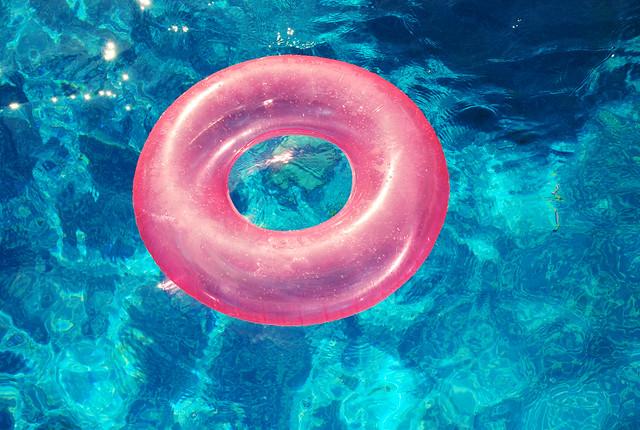 Pool Floatie Ring Image