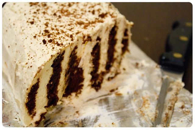 Chocolate Ripple Cake Origin