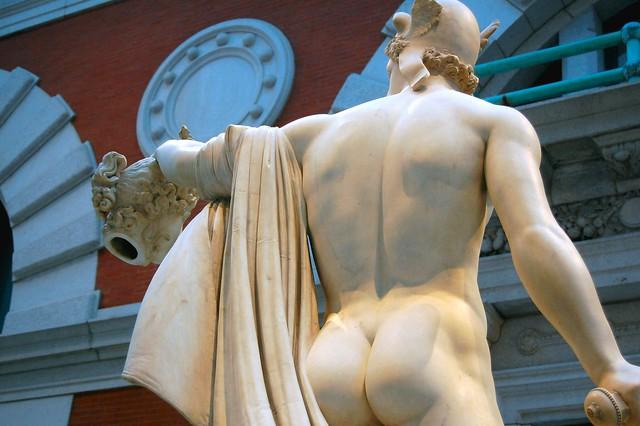 Antonio Canova - Perseus and Medusa low back torso, Metropolitan Museum of Art, New York