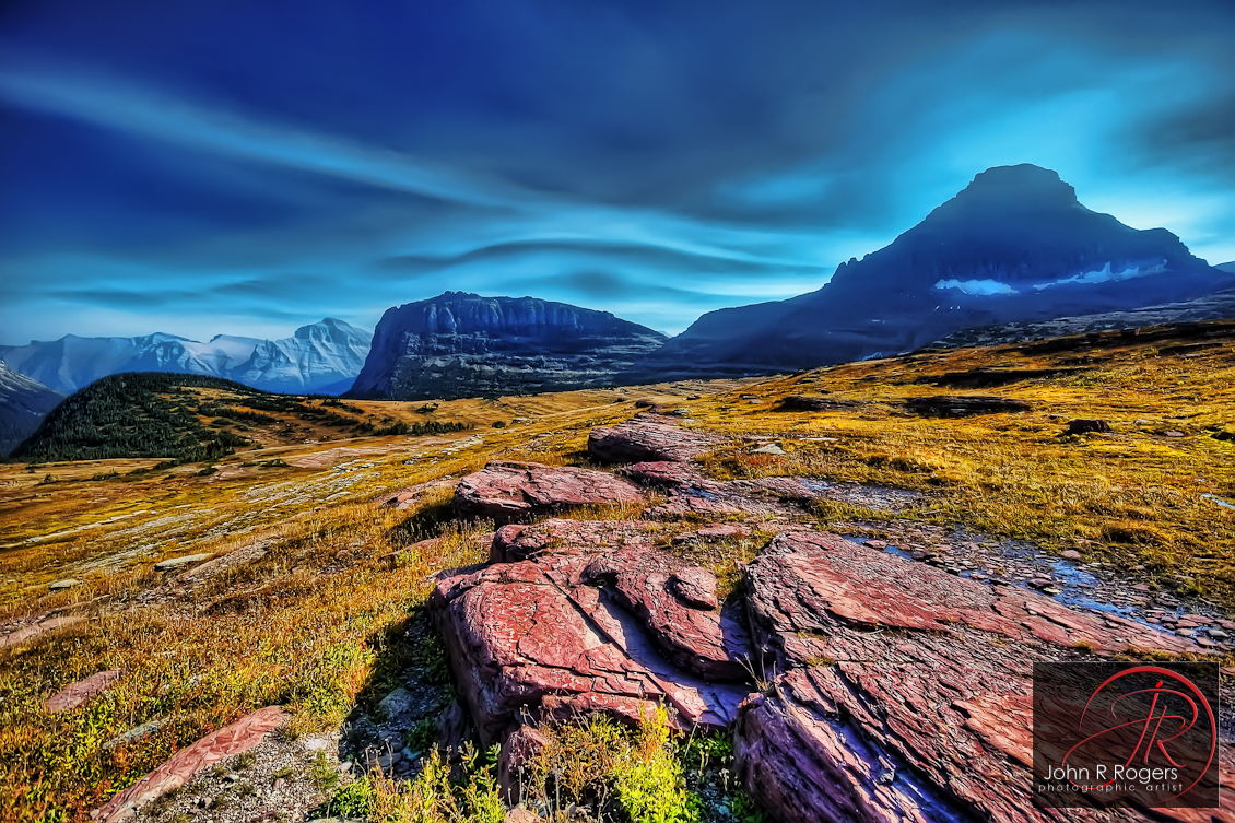 Autumn Colors on Logan's Pass