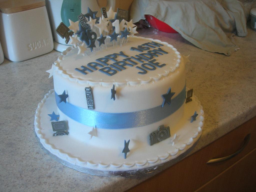 happy 16th birthday boys cake a photo on Flickriver