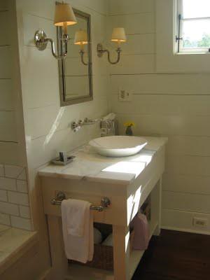 Farmhouse Vessel Sink : green-bath-vanity Flickr - Photo Sharing!