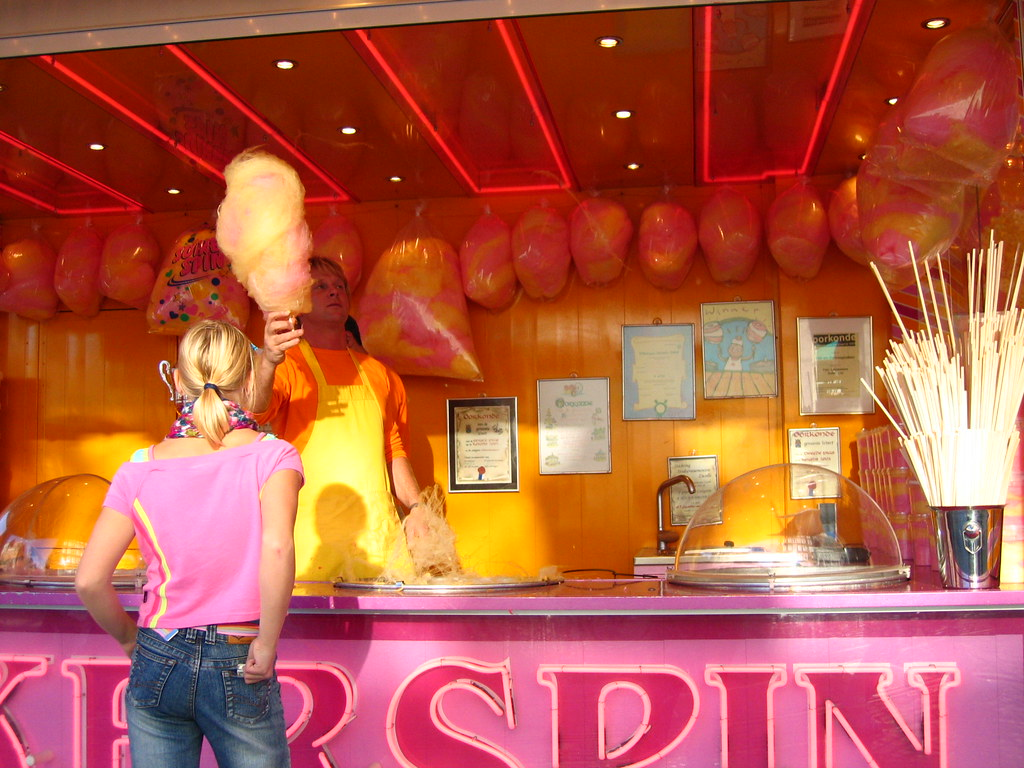 Candy Floss Stand