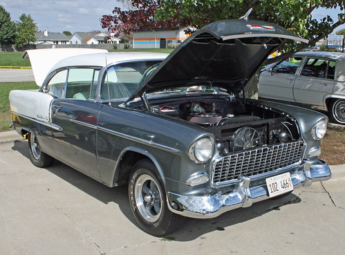 1955 Chevrolet Bel Air 2-Door Hardtop (3 of 9)