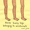 three hairy legs
