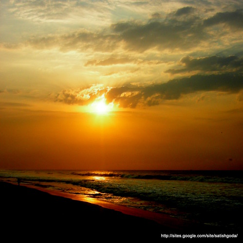 ocean morning sun sunrise star shoreline vizag