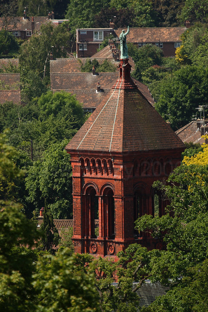 Tower of All Saints House (formerly All Saints Parish Church), Petersham (Copyright Dave Halley 2009)