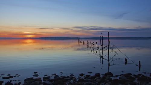 sunset geotagged scotland aperture galloway dumfriesandgalloway creetown wigtown ef1740mmf4lusm canon50d rivercree dfine20 sharpenerpro30 wigtownsands geo:lat=54890234 geo:lon=4384183