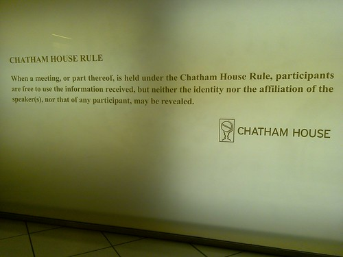 Chatham House Rule