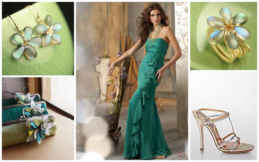Gorgeous Green Bridesmaids Style