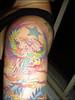 Encontro no apê com a Lilian 33 Tatuagem da Lilian.