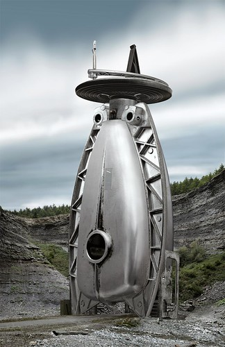 "Dave Trautrimas  ""Seismic Conduction Tower"""