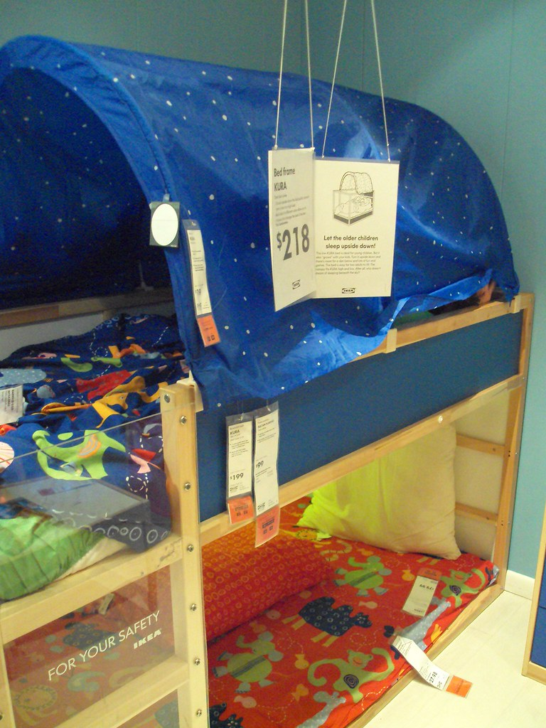 Coolest Little Bunk Bed Ever Kura With Tent Atlanta 2009