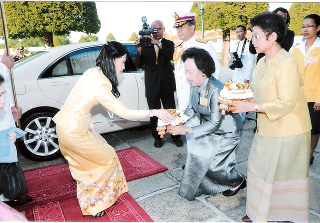HRH Princess Chuabhorn at World Tipitaka Celebration 2009