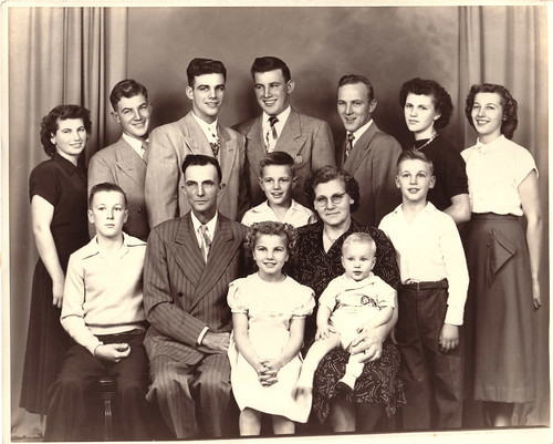 Lawrence Broersma Family 1951