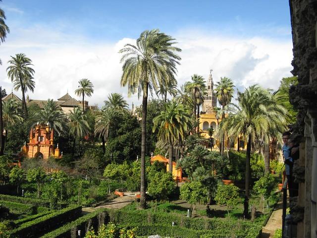 Real Alcazar de Sevilha, Espanha; Dezembro 2009