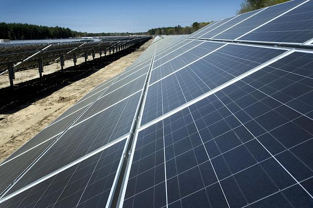 Long Island Solar Farm Construction