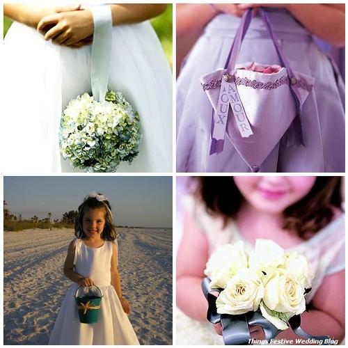 Alternative Flower Girl Basket Ideas : Flower girl basket alternatives things festive weddings