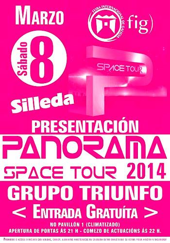 Silleda 2014 - Presentación xira orquestra Panorama- cartel