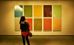 tourist attraction, art, art gallery, exhibition, wall, yellow, painting, art exhibition, interior design,
