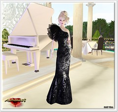 AsHmOoT_SS Coll_Mermaid Dress_Sparckling Black
