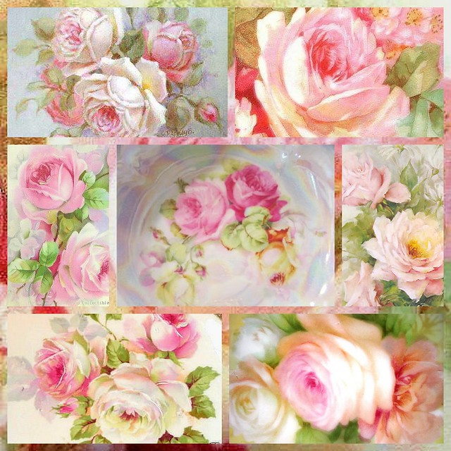 ALL PINK ROSES COLLAGE