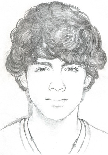 Drawing of Joe Jonas
