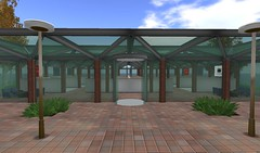 courtyard, outdoor structure, property, pergola, pavilion, real estate, facade,