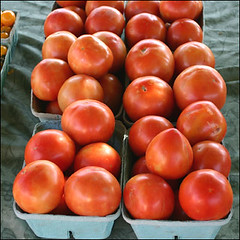 potato and tomato genus, plum tomato, tomato, produce, fruit, food,
