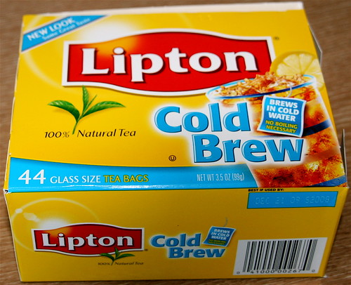 my new food love: Lipton Cold Brew