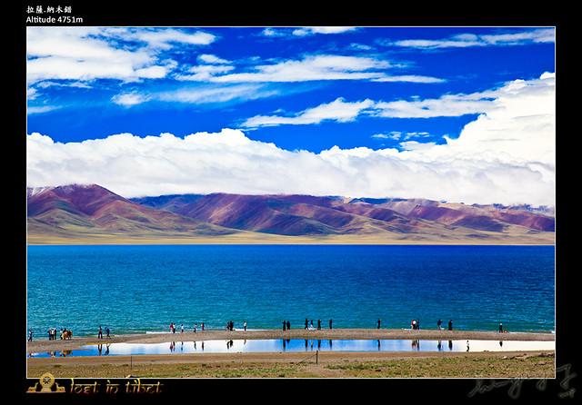 纳木错是西藏的三个圣湖之一.