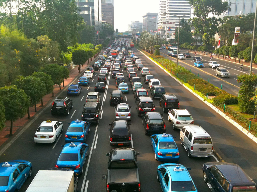 Jakarta Traffic by Charles Wiriawan, on Flickr CC
