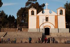 Church at Kasani border crossing