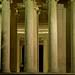 Small photo of Ionic Pillars at Night