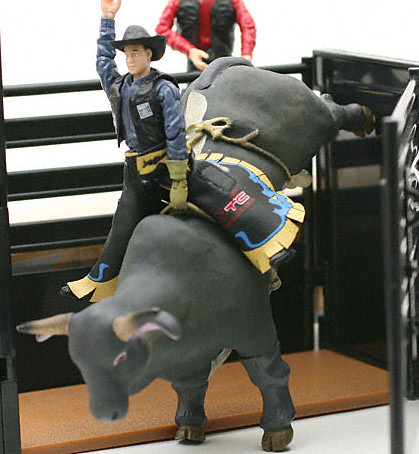 PBR Bull Riding Toys Playset Moraes | Flickr - Photo Sharing!