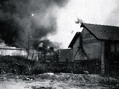 2éme bataille de la Marne - Neuilly saint front - Offensive allemande  (baptisee Blucher)de 1918 - (photo VestPocket Kodak Marius Vasse 1891-1987)