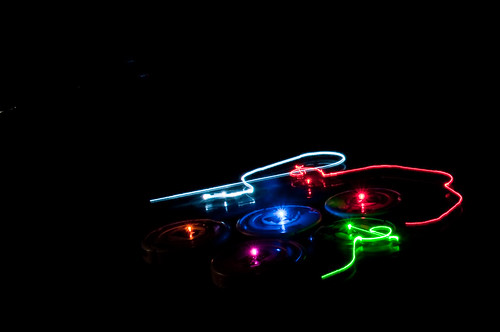 IBR Roomba Swarm in the Dark VIII