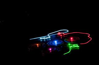 IBR Roomba Swarm in the Dark VIII