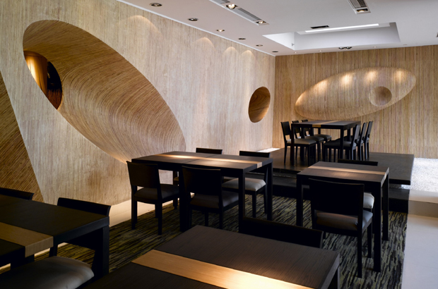 Nishimura japanese restaurant interior by cl live