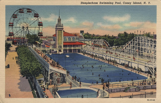 Steeplechase Swimming Pool Coney Island Ny Flickr