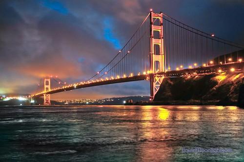 ocean sanfrancisco california bridge usa fog america reflections landscape us glow pacific goldengatebridge suspensionbridge fortbaker darvin 5photosaday mywinners atkeson platinumphoto カリフォルニア州 darv 캘리포니아 美国加州 platinumsuperstar liquidmoonlightcom
