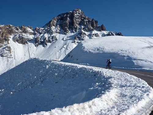Cycling the Galibier in winter is one for the brave. Photo: will_cyclist