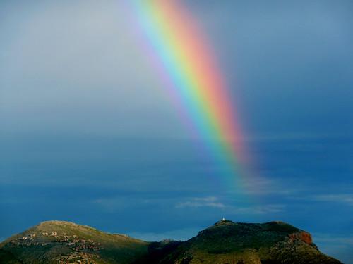 Foto meteo palermo arcobaleno su palermo for Bagni arcobaleno sottomarina webcam